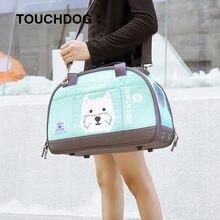 Touchdog наклонная дышащий рюкзак pet выходит с кошкой Сумка
