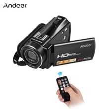 Andoer HDV-V7 PLUS 1080P Full HD 24MP Portable Home Digital Video Camera Camcorder
