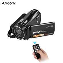 Andoer HDV-V7 PLUS 1080P Full HD 24MP Portable Home Digital Video Camer