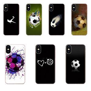 Футбол футбольный мяч чехлы из ТПУ кожи для huawei Honor 4C 5A 5C 5X6 6A 6X7 7A 7C 7X8 8C 8S 9 10 10i 20 20i Lite рro