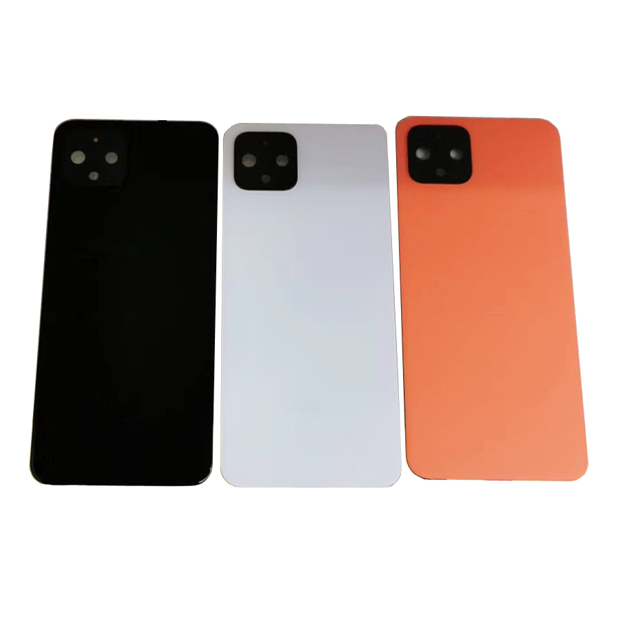 Original Gorilla Glass 5 For Google Pixel 4 XL 4XL Battery Door Back Glass Cover Housing Case For Pixel XL4 With Adhesive