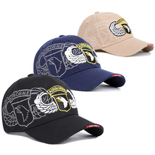 Sale  Spring 2019 New Outdoor Army 101 Airborne Division Memorial Baseball Cap Tactical Sunshade Hawk Embroidery