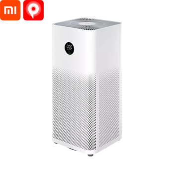 Xiaomi Air Purifier Mi Air 3 / Air Purifier / Cigarette Smell Removal / Air Washer / Mildew Odor Removal / Air Purifier Pro 35W / HEPA Filter air cleaner OLED Touch Screen Smart APP connection / AC-M6-SC фото