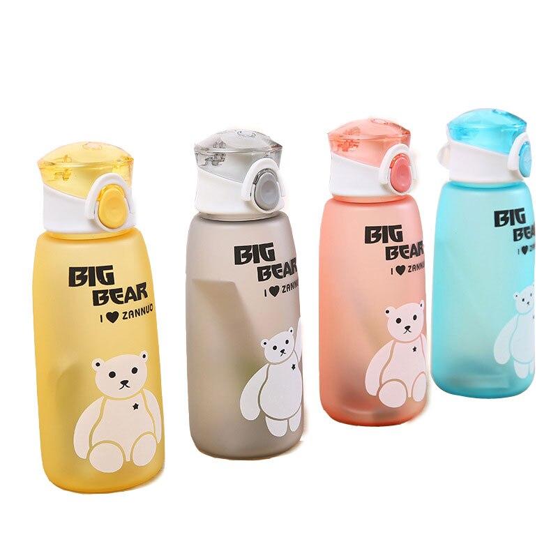 Çocuklar su şişesi karikatür sızdırmaz benim şişeler spor Drinkware en kaliteli tur yürüyüş taşınabilir tırmanma 500ml H1087