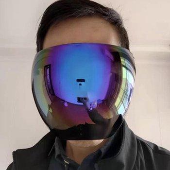 Męskie okulary ochronne damskie okulary ochronne okulary ochronne okulary ochronne okulary ochronne okulary ochronne tanie i dobre opinie CN (pochodzenie) Mężczyźni Kobiety Unisex MULTI Jasne 165 mm * 142 mm transparent blue(optional)