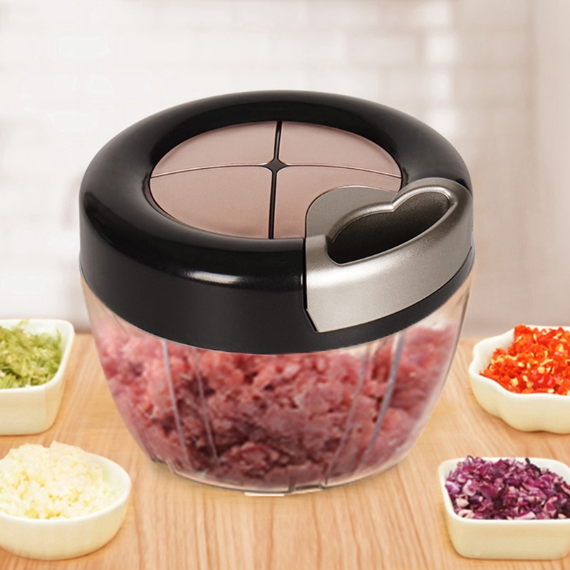 Food Chopper Vegetable Cutter Onion Shredder Slicers Ginger Grinder Meat Mincer Food Processor Kitchen Gadgets