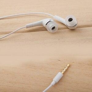 Image 5 - Écouteurs dorigine Samsung EHS64 casques avec Microphone intégré 3.5mm dans loreille écouteurs filaires pour Smartphones avec cadeau gratuit