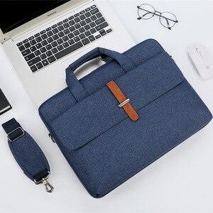 Image 3 - Waterproof Laptop Bag 17.3 Case for Macbook Pro 15 Notebook Bag 14 Inch Laptop Sleeve Laptop Bag 15.6 for Macbook Air 13 13.3,14