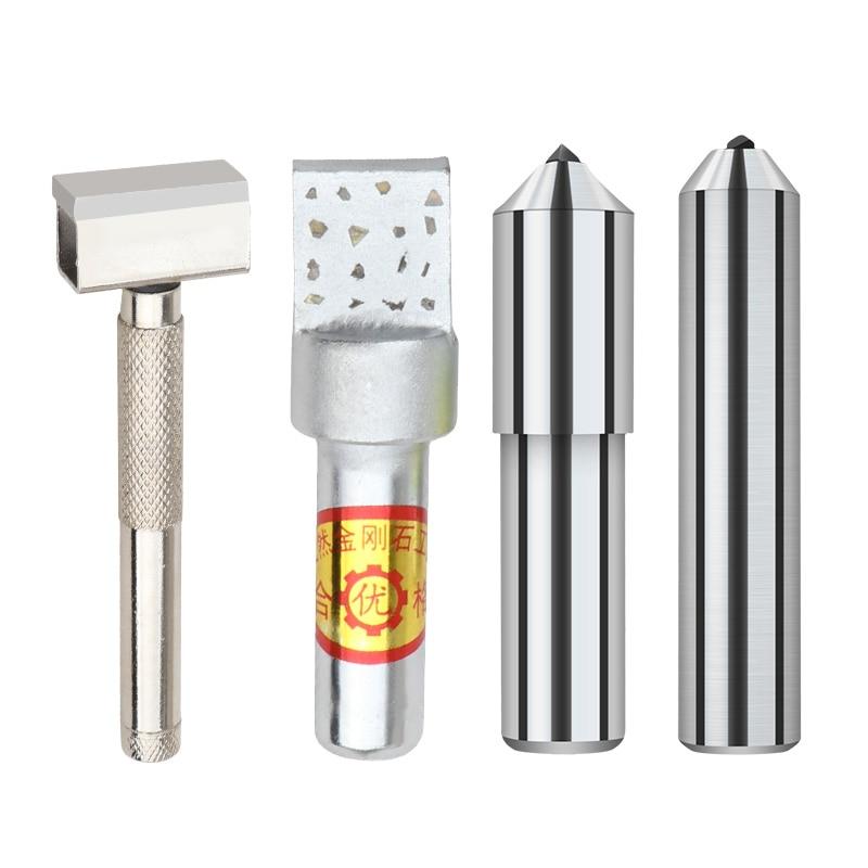 "1Pcs 3//8/"" Grinding Wheel Single Point 1.0CT Diamond Dresser Pen Dressing Tool"