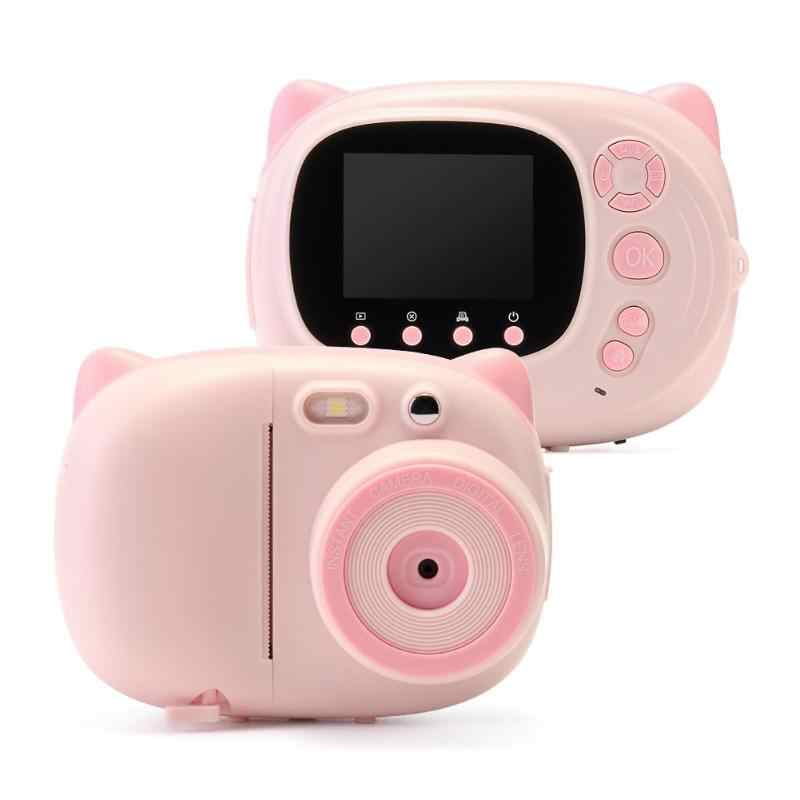 Wifi 1080P Multifungsi Anak-anak Digital Photo Printer Kamera Shooting Rekaman Diy Instax Perekam Video Camcorder Hadiah