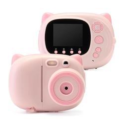 WiFi 1080P Multifunctional Children Digital Photo Printer Camera Shooting Recording DIY Instax Video Recorder Camcorder Gift