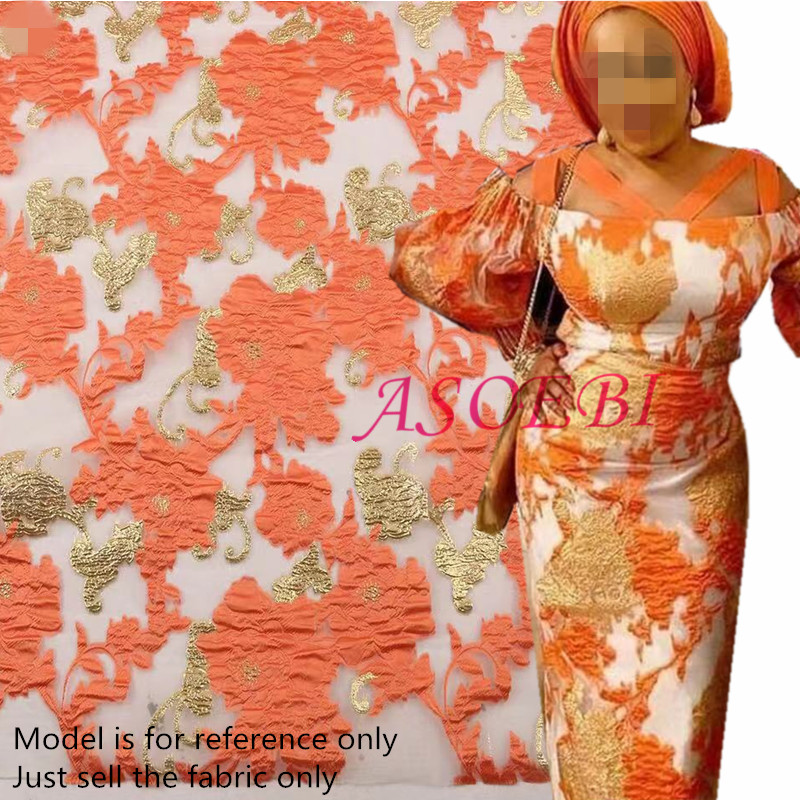 Tissu de dentelle africaine 2019 haute qualité brodé brocart dentelle cupidité français Tulle dentelle tissu pour nigéria robe de soirée