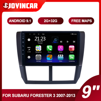 9 Android 9.1 Car Multimidia Video Player For Subaru Forester 3 SH 2007-2013 2din Car Radio Navigation GPS Autoradio Head Unit image