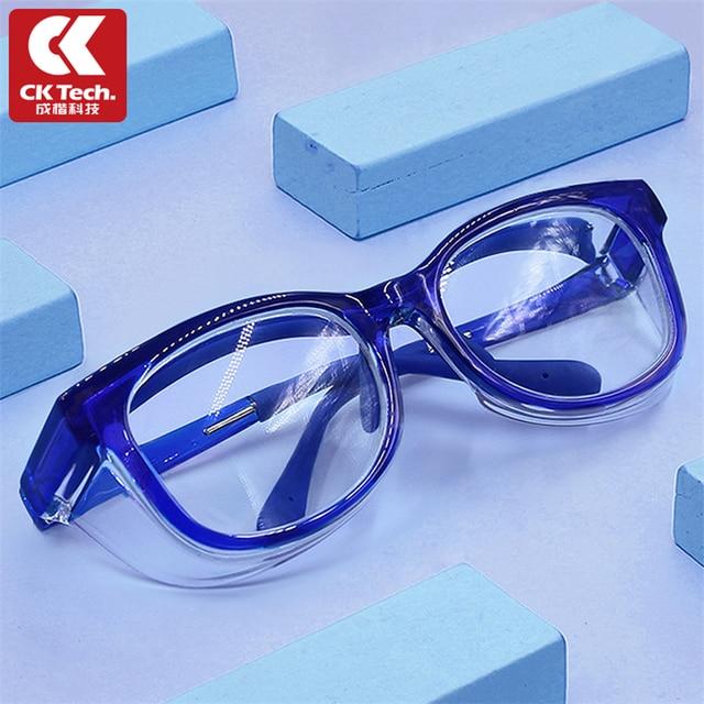 CK Tech. الأطفال نظارات حماية نظارات يندبروف مكافحة سبلاش واقية العين نظارات الطفل نظارات نظارات الاطفال في الهواء الطلق