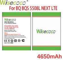 WISECOCO 4650mAh BQ-5508L Batterie Für BQ-5508L NÄCHSTE LTE Telefon Auf Lager Neueste Produktion Hohe Qualität Batterie + Tracking Nummer