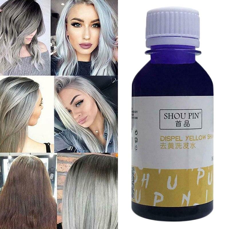 100g Hair Shampoo Purple Toner Blond Anti Yellow Hair Care Enhances Hair Color Softens Hair