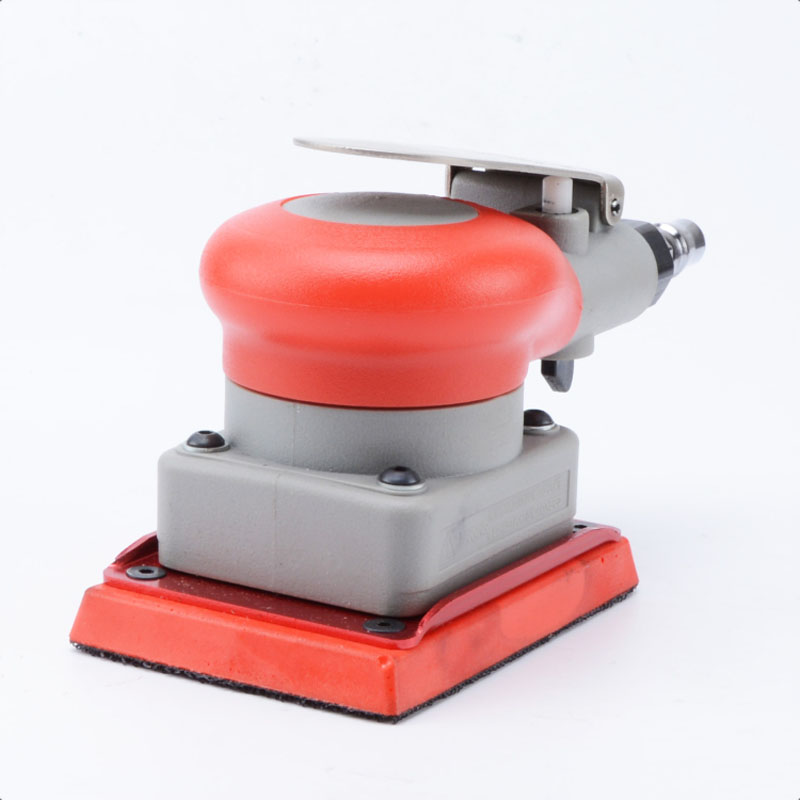 Pneumatic Tools Pneumatic Sander Pneumatic Tools Square Rail Pneumatic Polishing Machine Square Pad 75 100mm Surface Grinder in Pneumatic Tools from Tools