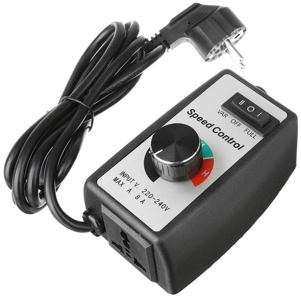 220-240V 8A Drehzahlregelung Elektromotor variabler Regler für Light Fan Pump KT