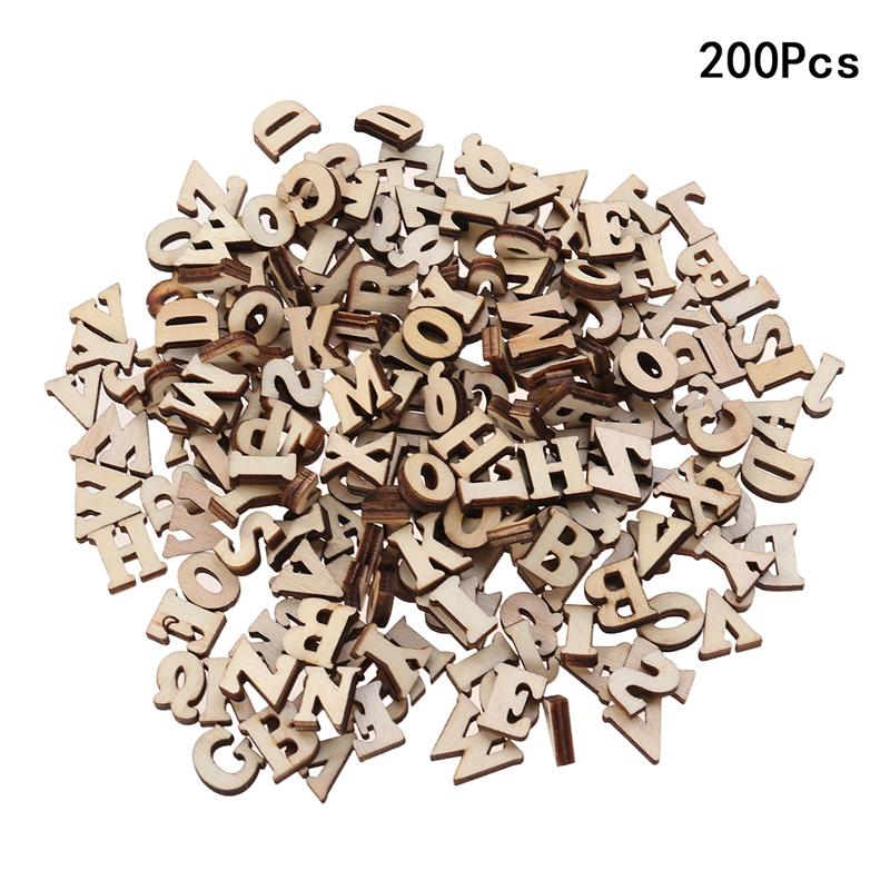 100/200 шт., детские деревянные ломтики, 15 мм