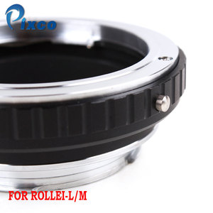 Image 2 - Pixco QBM L/M Lens Adapter Suit For Rollei QBM Lens to Leica M Camer