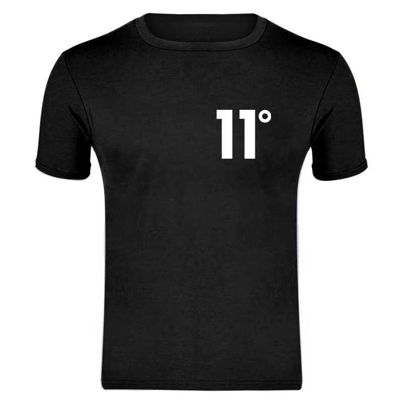 XXXL New Brand Hot Sale New Tee 11 Print Men Swag T-Shirt Top Quality Cotton 11 Hip Hop Short Sleeve T Shirt Men