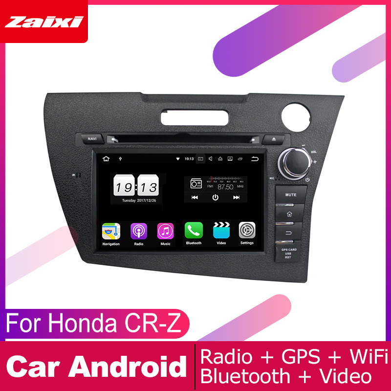 android car dvd <font><b>gps</b></font> multimedia player For <font><b>Honda</b></font> CR-Z <font><b>CRZ</b></font> 2010 2011 2012 2013 2014 2016 car navigation radio video player Map image