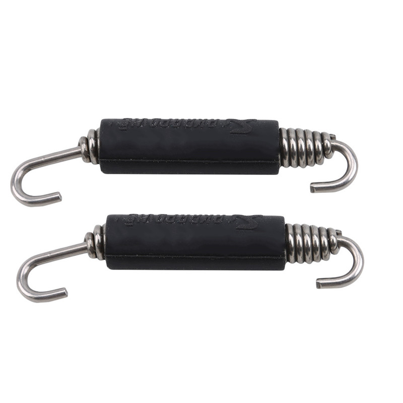 2pcs Universal Motorcycle Stainless Steel Spring Hooks For Akrapovic SC Project AR Exhaust Pipe