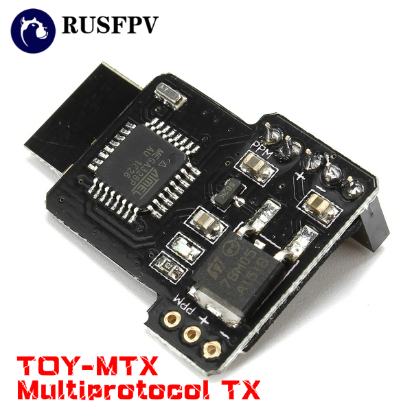TOY-MTX Multiprotocol TX Module For Frsky X9D X9D Plus X12S Flysky TH9X 9XR PRO Taranis Q X7 Transmitter Remote Controller