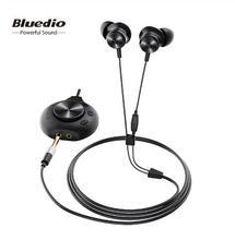 Bluedio L Pro Wired Oortelefoon 7.1 Virtuele Geluidskaart Hifi Stereo Headset Ingebouwde Microfoon Magnetische Oordopjes