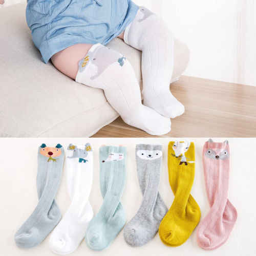 1Pair Soft Newborn Girl Socks Pure Cotton Princess Lace Design Baby Infant Girls Socks for 0-1 Year Old Toddler