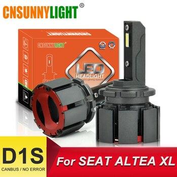 CNSUNNYLIGHT D1S No Error LED Car Headlight Bulbs 10000Lm 70W/PAIR 6000K Automotor Light For SEAT ALTEA 5P1 XL Bi-Beam Headlamp фото