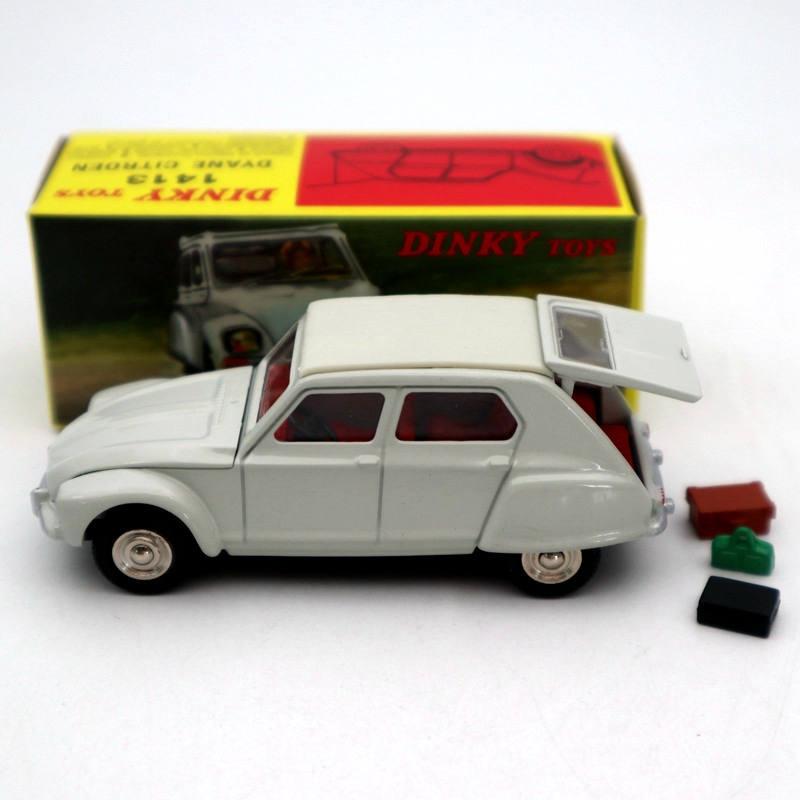 Atlas 1/43 Dinky Toys 1413 Dyane Citroen Diecast Models Car Collection Miniature