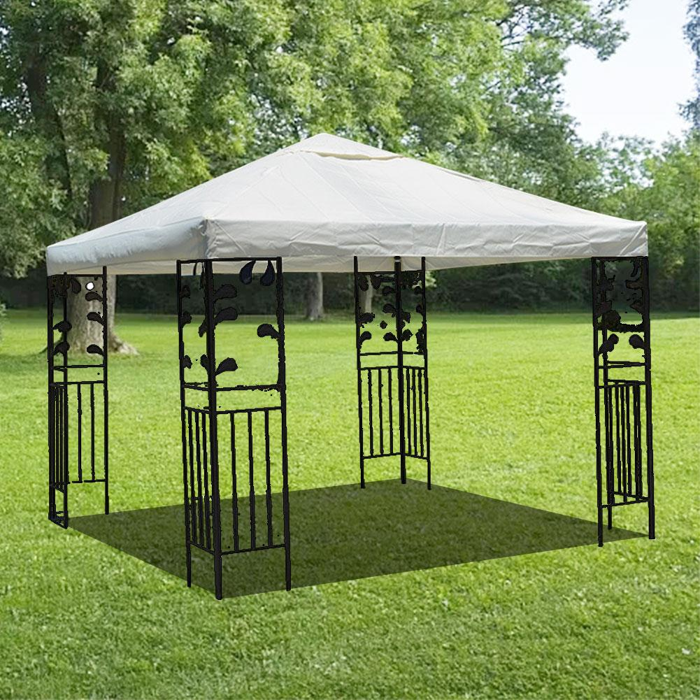 3x3m Canvas Camping Hiking Sun Shelter Outdoor Tent Canopy Top Roof Cover Patio Sun Shade Cloth Shade Shelter Replace Part Awnings Aliexpress