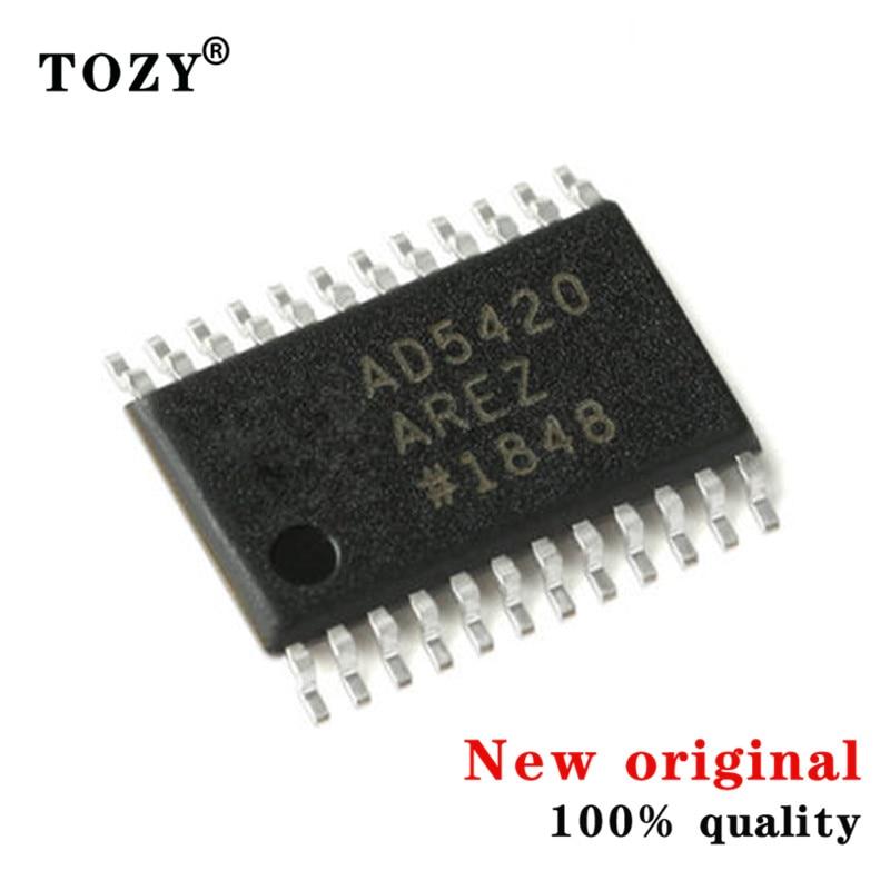 3pcs / lot new original Ad5420arez-reel7 tssop-24 single channel 16 bit analog to digital converter (DAC)
