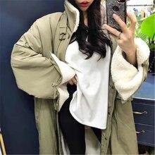 Женские пальто с подкладкой из овечьей шерсти зимние повседневные