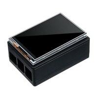 3.5 polegada 320x480 tft tela da imprensa display lcd caso para raspberry pi a b a + 2b 3b +|Tela de exibição| |  -