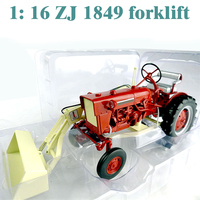 rare fine 1: 16 ZJ 1849 forklift engineering model Tractor model Alloy collection model