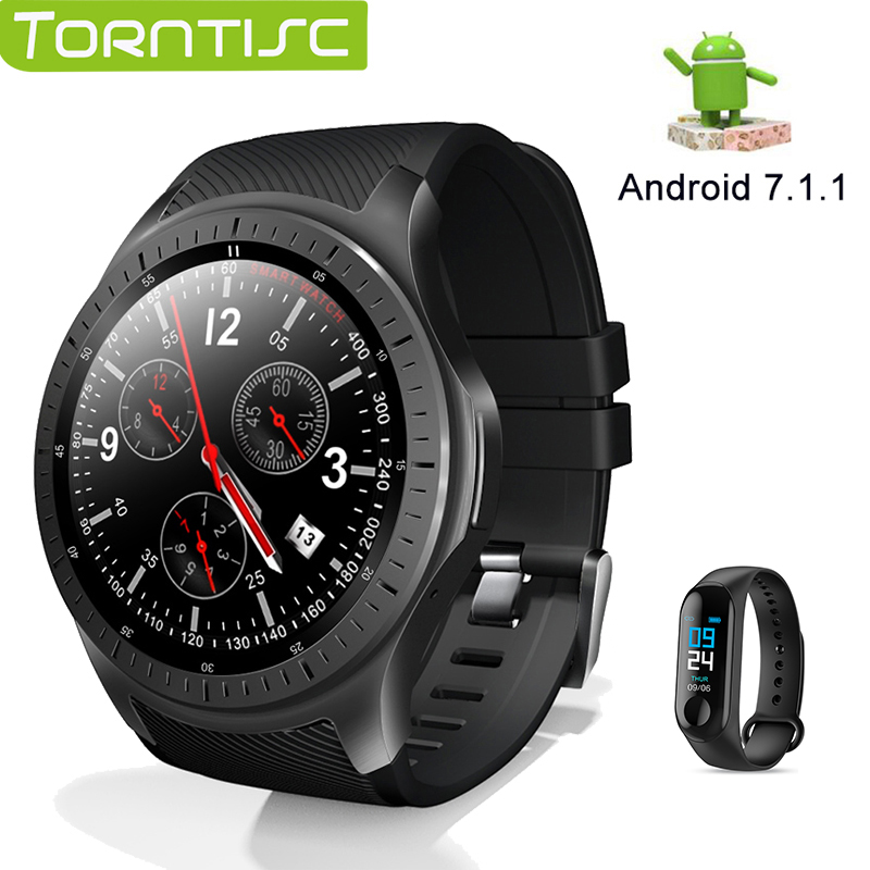 TORNTISC 4G Smart Watch Phone Android 7 1 1 1GB 16GB 600Mah Battery Support GPS WiFi