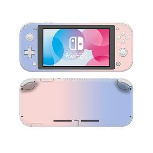 Image 1 - Pure Pink Blue NintendoSwitch Skin Sticker Decal Cover For Nintendo Switch Lite Protector Nintend Switch Lite Skin Sticker