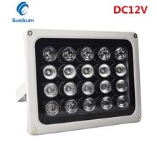 CCTV Camera Fill Light 20Pcs IR Infrared Illuminator night vision 850nm IP65 Metal Outdoor CCTV Leds For security Camera