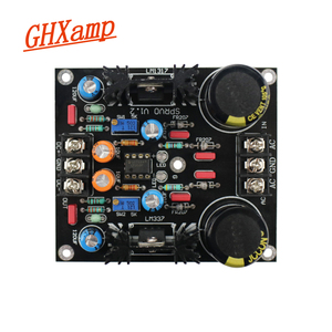 Image 5 - GHXAMP LM317 LM337 Servo Rectification Filter Power Supply Board AC to DC NEW