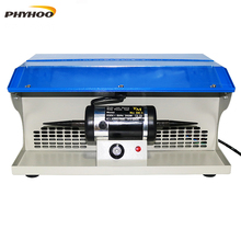 PHYHOO DM-5 полировальная машина с пылесборником скамья для полировки ювелирных изделий многофункциональный мощный Электроинструмент 8000 об/мин