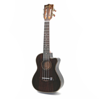 Dropship-23 Inch Rosewood Ukulele Musical Instrument Guitar 4 String Hawaiian Mini Guitar Rosewood 4 Strings Guitar Instruments