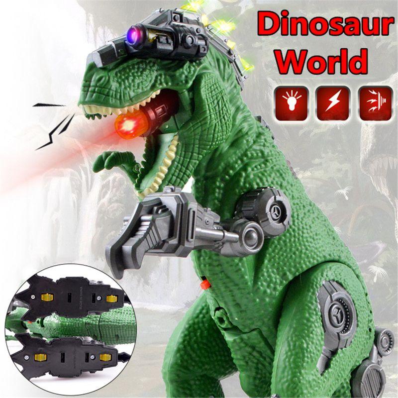 Jouet /électronique Dinosaure LED Marche Dragon T Rex Mallalah Grande Taille Jurassique Lumi/ère Projection Pondant Oeufs