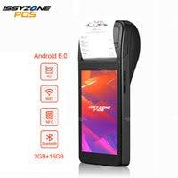 ISSYZZONEPOS POS Receipt Printer PDA Android 6.0 Bluetooth Printer 58mm Handheld POS terminal WiFi 3G 4G PDA Support NFC