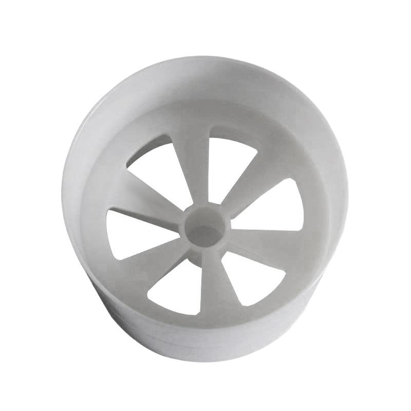 17Mm Aperture Outdoor Golf Training Flagpole Hole Cup Golf Training Aids White Plastic Golf Hole Cup