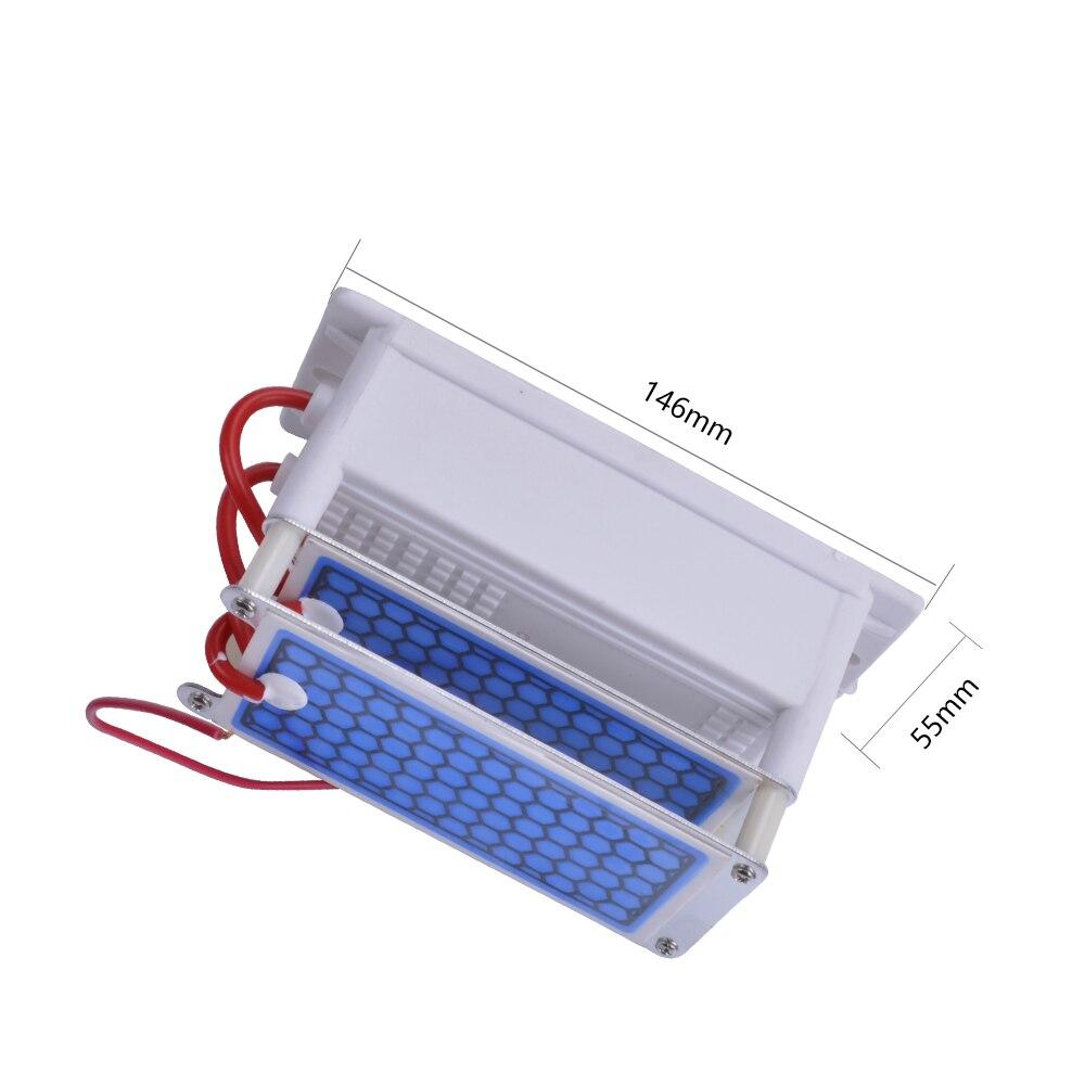Brisk 220V Ozon Generator Teil 10g mit Keramik Platte Lange Lebensdauer Stil Langlebigkeit Doppel Blatt Für Chemische Fabrik 002