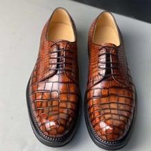 difutouzi new arrival crocodile leather  men shoe business leisure Men shoes
