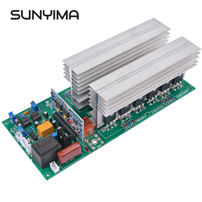 SUNYIMA 1PC Pure Sine Wave Solar Power <font><b>Inverters</b></font> DC 12V 24V 36V 48V 60V To 220V 1500/<font><b>3000</b></font>/4000/5000/6500W Converters image