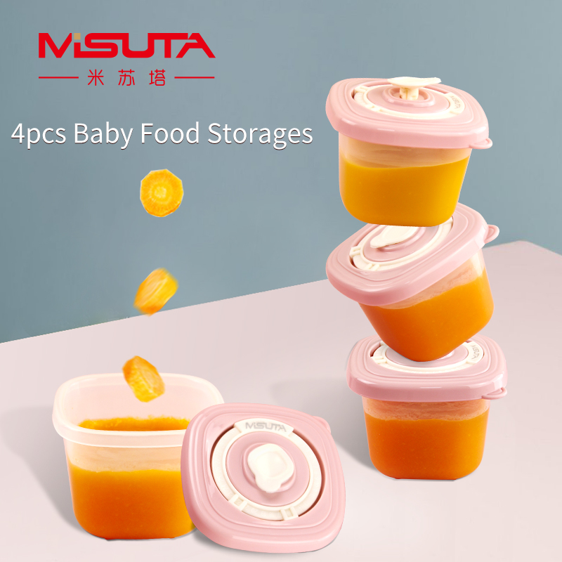 120 мл 4 шт/комплект детский закуска коробка свежий Еда коробка для хранения фруктов по уходу за ребенком на открытом воздухе для детей Еда ко...